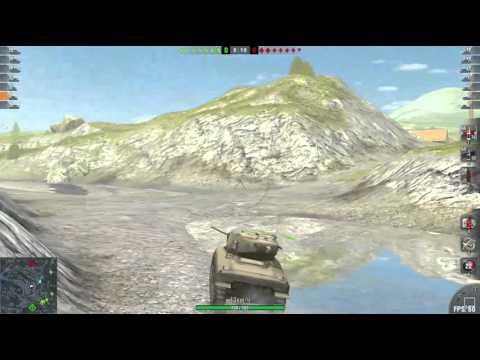 M4 American tank not on top