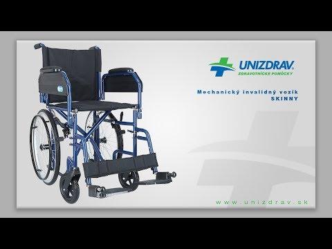 Mechanický invalidný vozík SKINNY - VIDEOMANUÁL