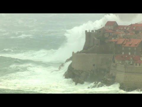 euronews (en español): Caos en parte de Europa por el mal tiempo