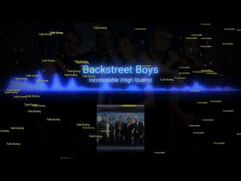 Inconsolable   Backstreetboys