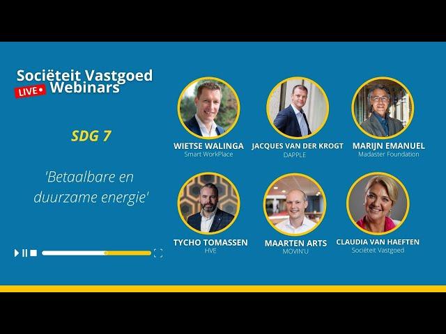 Inzage in SDG's - SDG 7: Betaalbare & Duurzame Energie #Team Cartouche
