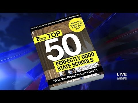 Nation's Parents Release Annual Ranking Of Top 50 'Perfectly Good' State Schools
