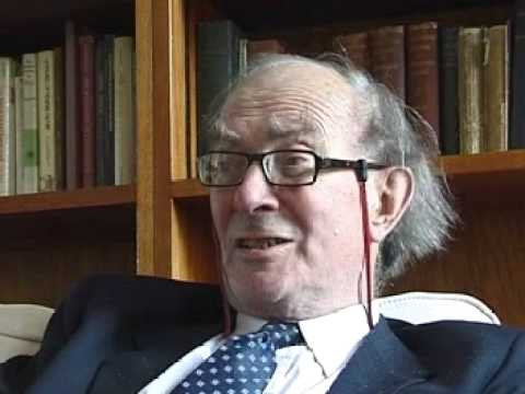 Interview of the historian James Campbell in 2009