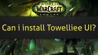 Can i install Towelliee UI?