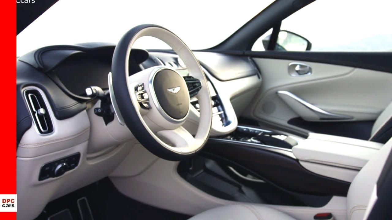 Aston Martin Dbx Suv Interior Cabin Youtube