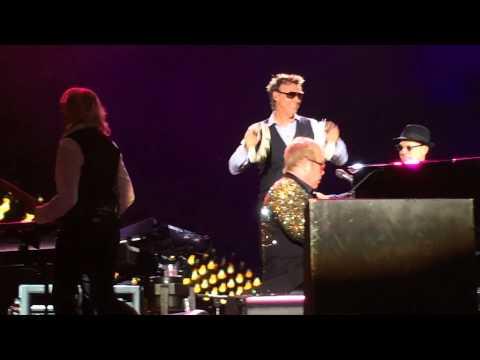 Elton John & Davey Johnstone Saturday Night is Alright for Fighting Atlanta Music Midtown 2015
