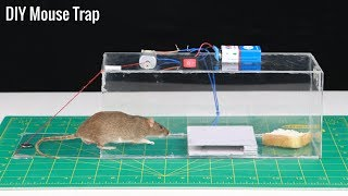 How to Make Electric Mouse Trap Machine at Home | Awesome Ideas