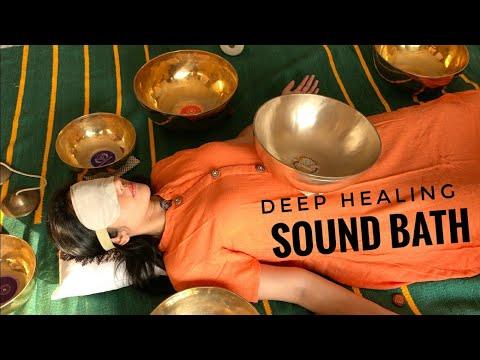 Tibetan Singing Bowls Sound Spa | Healing, Calming, Relaxation