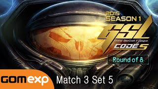 INnoVation vs Life TvZ Code S Ro8 Match 3 Set 5, 2015 GSL Season 1   StarCraft 2