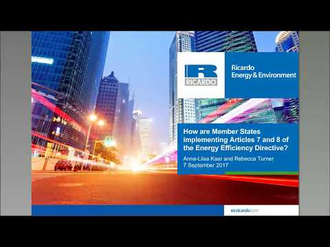 How are Member States implementing Articles 7 and 8 of the Energy Efficiency Directive?