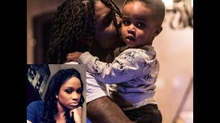 """Chief Keef Baby Mama Goes Back to Stripping and Calls him a """"Serial Reproducer"""" who Doesn"""