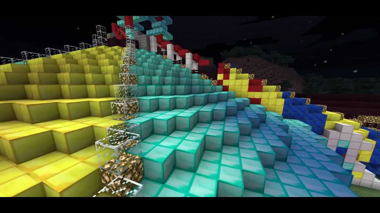 space mountain mission 2 minecraft - YouTube