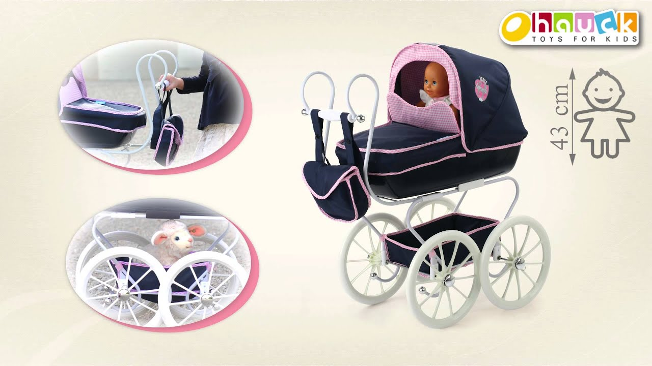Classic Pram by HAUCK TOYS FOR KIDS - YouTube