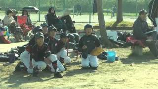 松島オールウェイズ2011 交流試合 大牟田イーグルスさん 27番が居たチ...