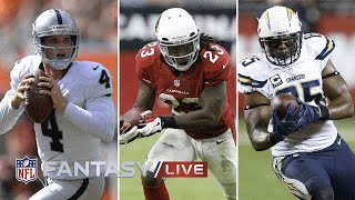 Top Waiver Wire Targets (Week 4) | NFL Fantasy Football Live