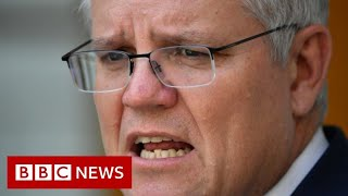 Australia demands China apology for 'repugnant' post - BBC News
