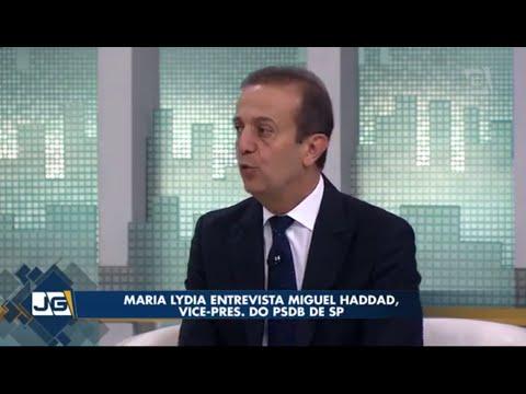 Maria Lydia entrevista Miguel Haddad, vice - pres. do PSDB de SP