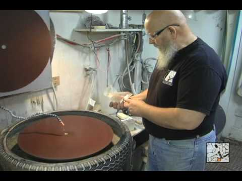 Grinding And Polishing Glass With Diamond Disks