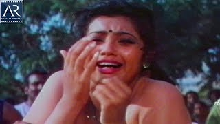 Punya Bhoomi Naa Desam Movie Scenes | Khali Removes Meena Saree | AR Entertainments