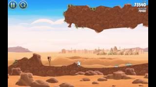 Прохождение 3 звезды Angry Birds Star Wars (11-20 уровни) #1