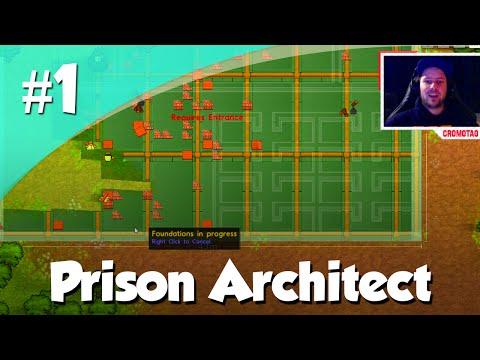 Prison Architect #1 - Gevangenis Bouwen!