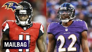 Will Jimmy Smith Cover Julio Jones in Week 13? | Ravens Mailbag