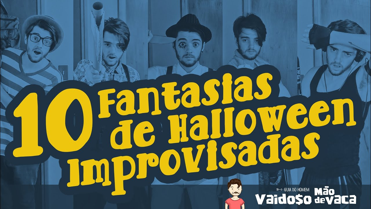 Suficiente 10 FANTASIAS DE HALLOWEEN IMPROVISADAS DE ÚLTIMA HORA - YouTube OM69