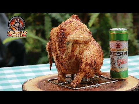 Beer Can Chicken In The Big Easy Oil Less Fryer | How To Make