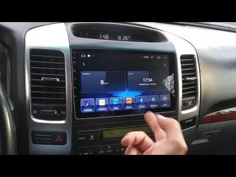 Toyota Prado 120 Android автомагнитола