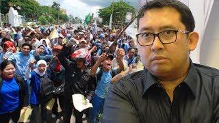 Fadli Zon Sebut di Era Jokowi Kehidupan Buruh Semakin Suram