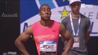 Jimmy Vicaut 9.92 (+0.3m/s) Marseille 2018
