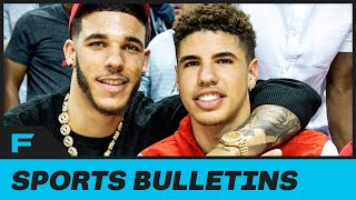 Lonzo Ball Has PERFECT Reaction To Brother LaMelo Buying His Australian Basketball Team