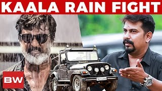 Kaala's Rain Fight Sequence with Jeep! | Kaala Jeep Owner Reveals | Rajinikanth | US 186