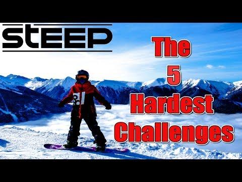 Steep's 5 Hardest Challenges!