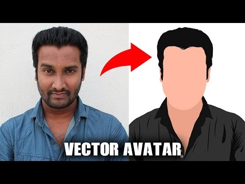 How to make VECTOR AVATAR on Mobile Phone Tutorial | [EASY]