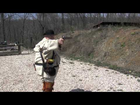 Shooting the Pedersoli Kentucky Pistol Kit