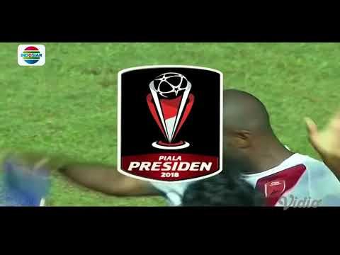 Piala Presiden 2018: Gol Bruce Djite Persib Bandung (0) vs PSM Makassar (1)
