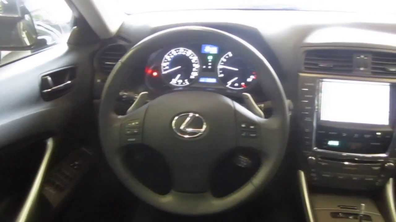 2010 Lexus IS250, Black   STOCK# 042724   Interior   YouTube