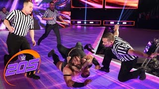 Austin Aries shows Neville he's ready for WWE Payback: WWE 205 Live, April 25, 2017