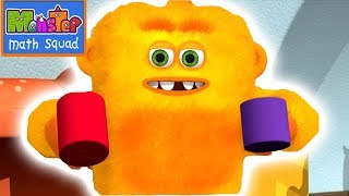 Monster Math Squad | 123 | Learning Numbers Series |The Scoop Troop