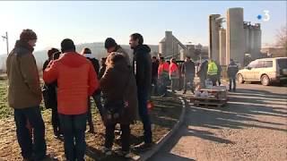 Haute-Garonne : grève reconductible à la cimenterie Lafarge de Martes-Tolosane