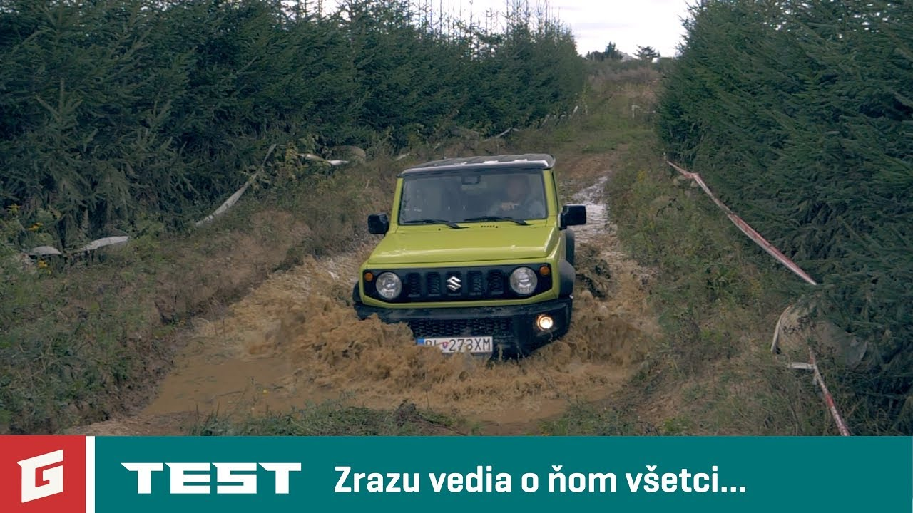 SUZUKI JIMNY GLX 4x4 1,5 VVT - TEST - OFFROAD - GARAZ.TV - YouTube