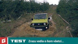 SUZUKI JIMNY GLX 4x4 1,5 VVT - TEST - OFFROAD - GARAZ.TV