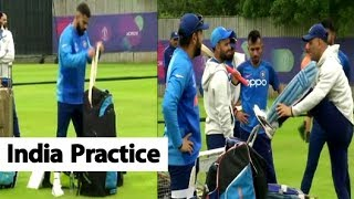 Download WATCH: India's First Practice Session After Beating Pakistan | Southampton | ICC CWC 2019 Mp3 and Videos