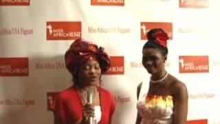 Miss Africa USA Finalist 2010 Roseline  Mopelola Amusu from Nigeria