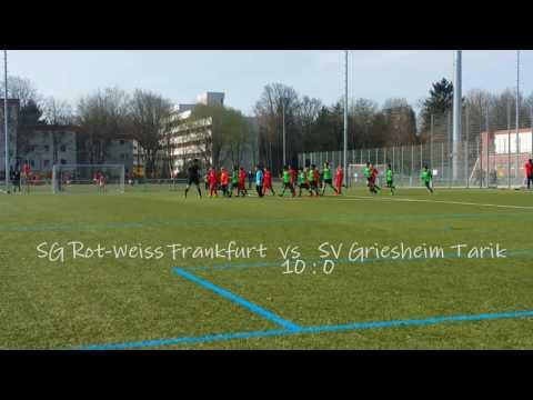 SG Rot-Weiss Frankfurt vs. SV Griesheim Tarik II 10:0  ( U9 Mannschaft )