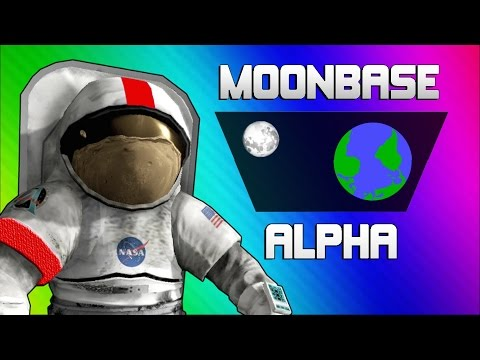 Thumbnail: Moonbase Alpha Funny Moments - Text to Speech Singing Astronauts!