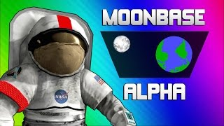 Repeat youtube video Moonbase Alpha Funny Moments - Text to Speech Singing Astronauts!