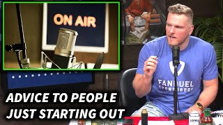Pat McAfee's Advice To People Who Want To Create Content