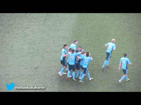 Del Piero's first goal for Sydney FC- Sublime Freekick V Newcastle Jets 720P!